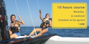 sailing lesons tarragona