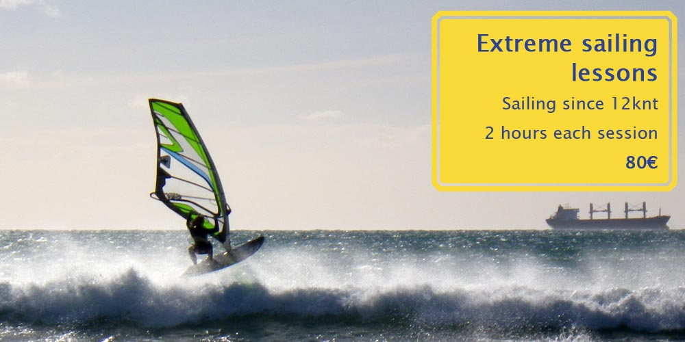 extreme sailing course