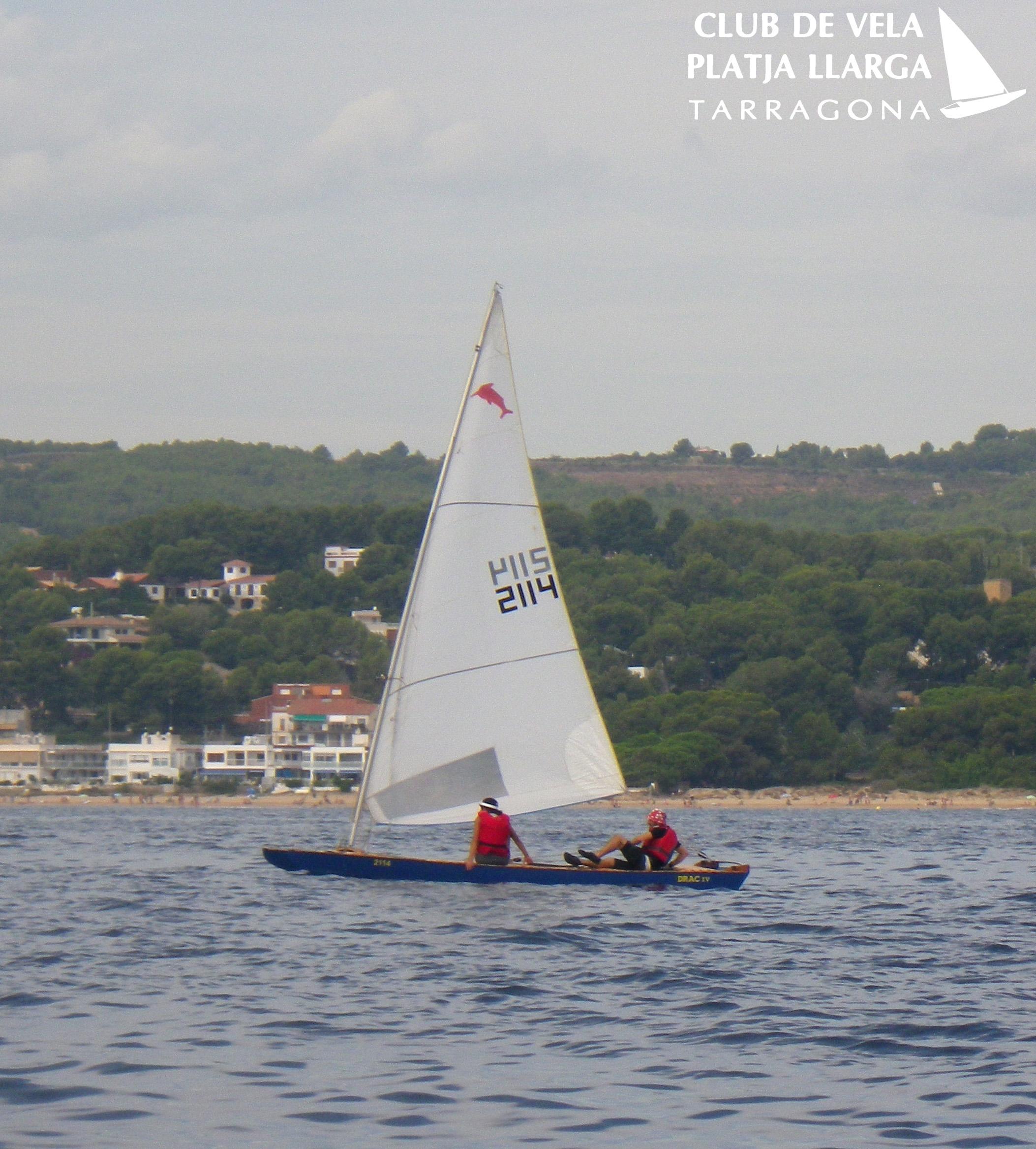 Joan Rioné navegant