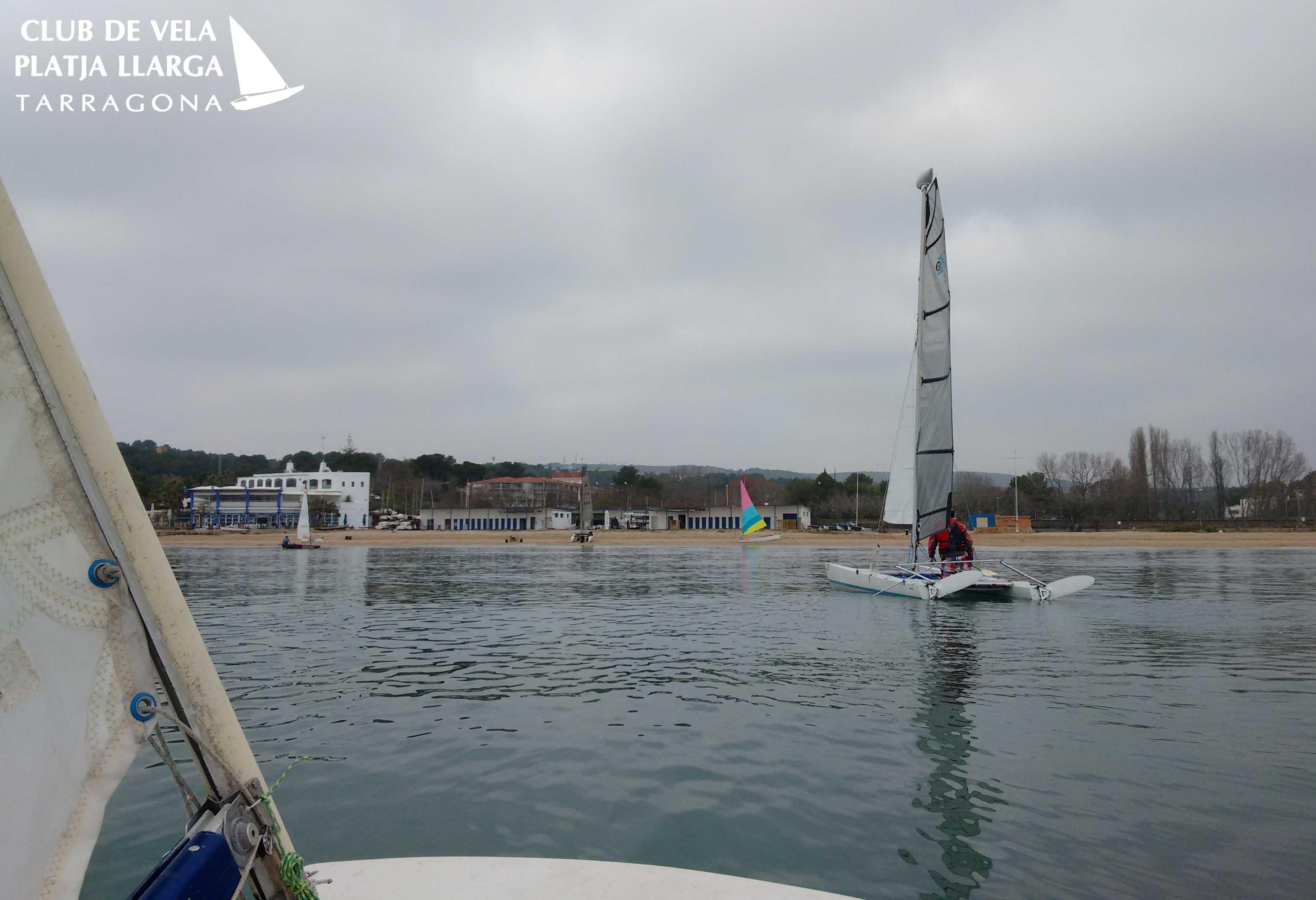 no wind sailing