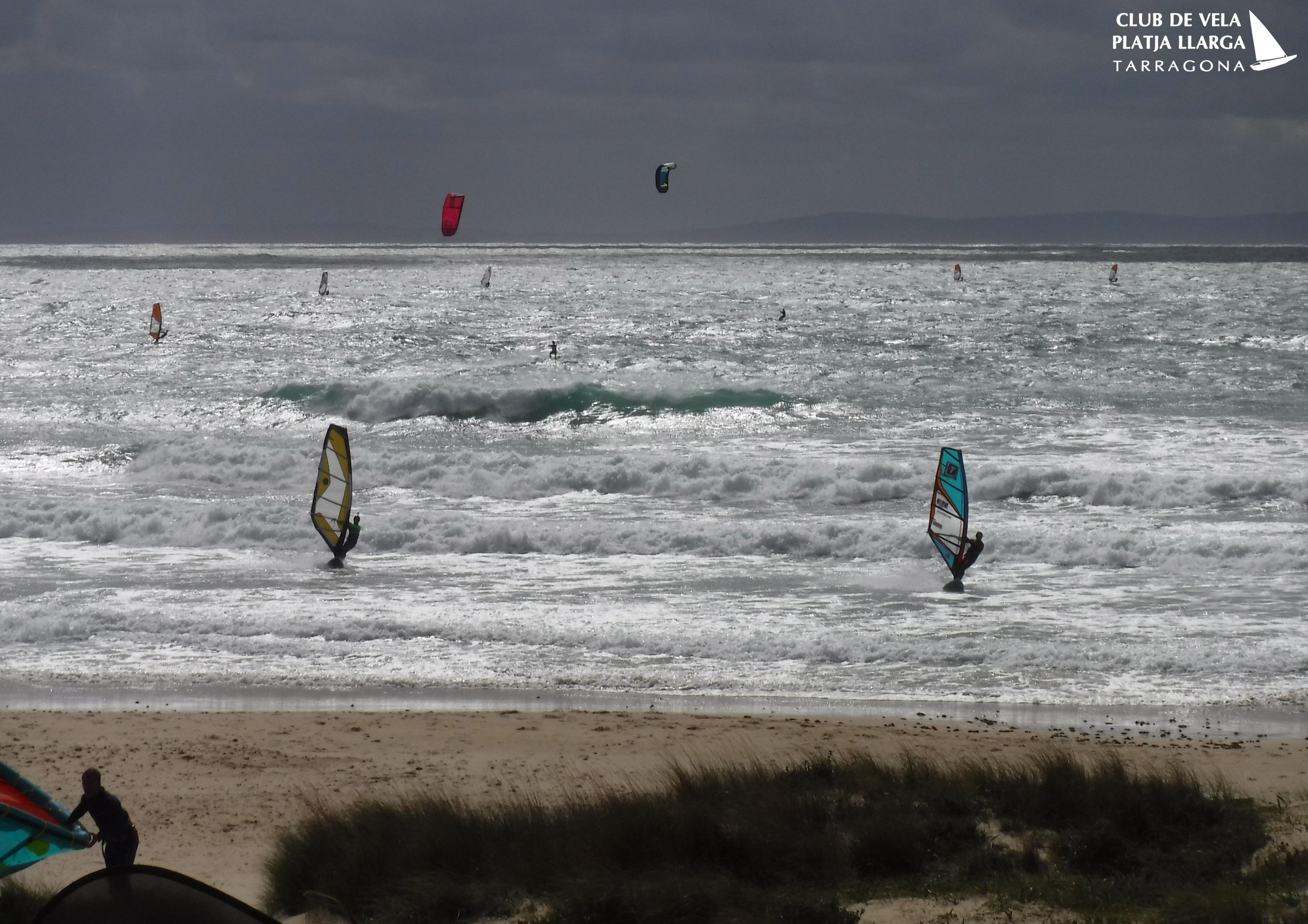 Arte Vida Windsurf spot at Tarifa