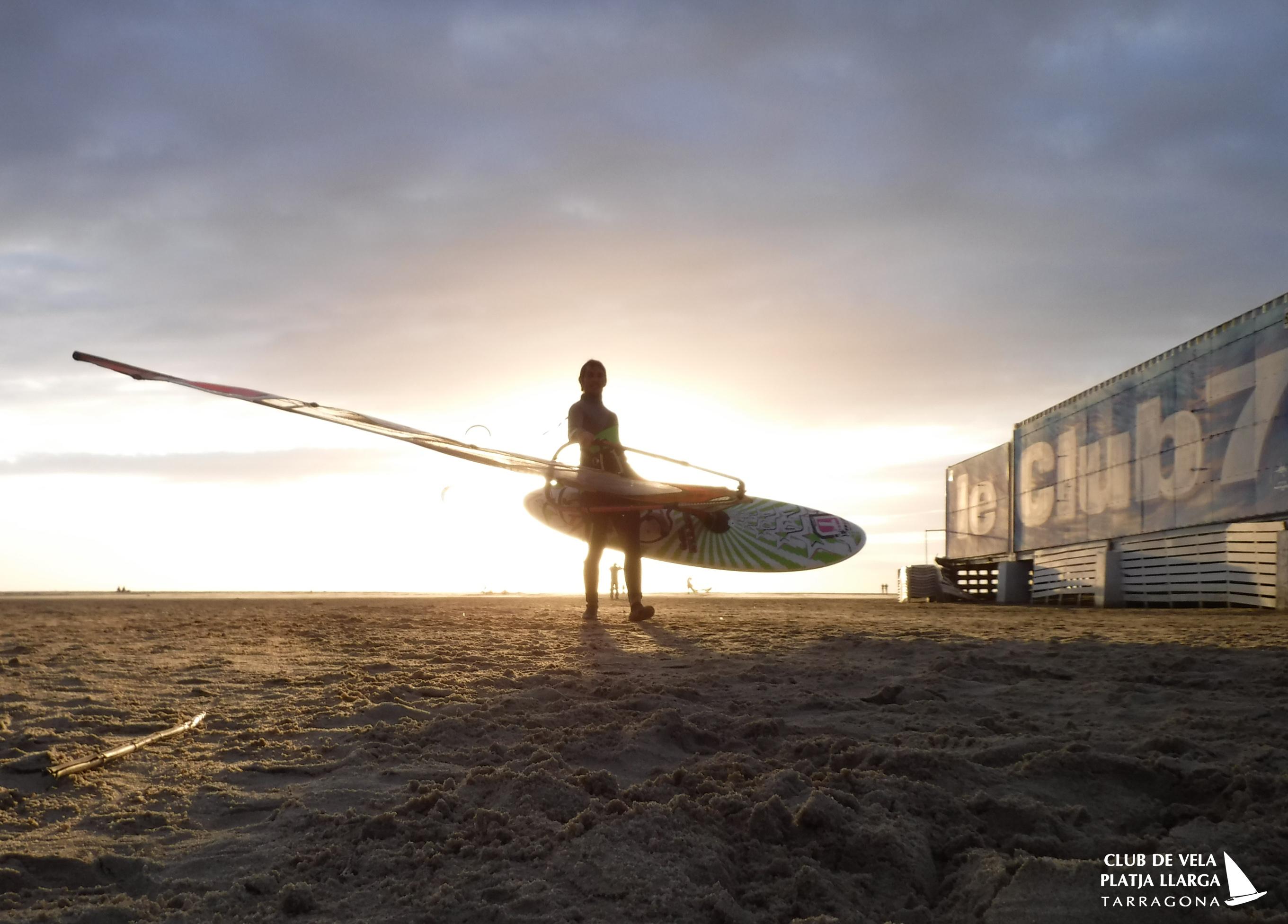 Windsurf en los Lances, Tarifa