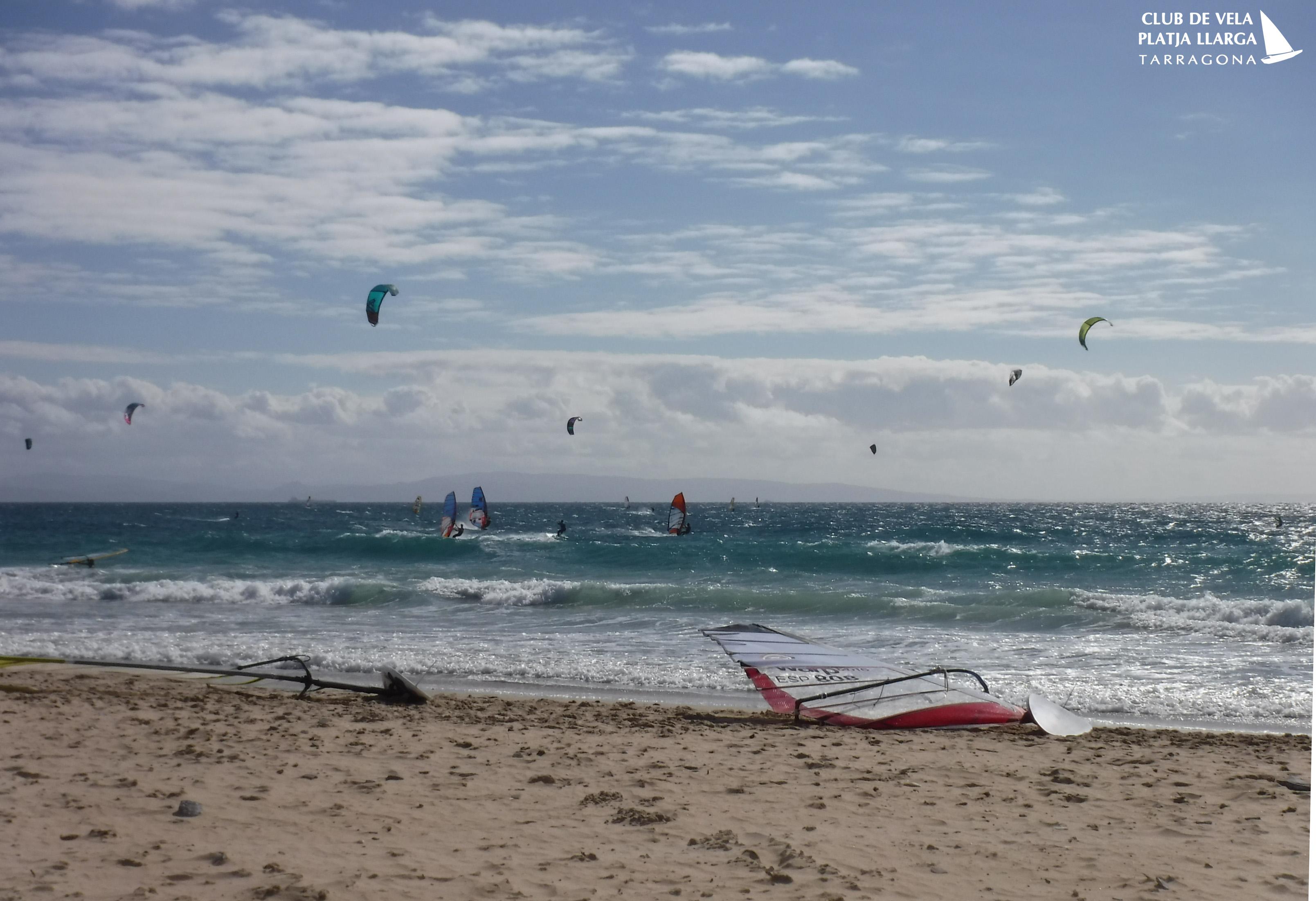 Windsurf i Kitesurf en Tarifa