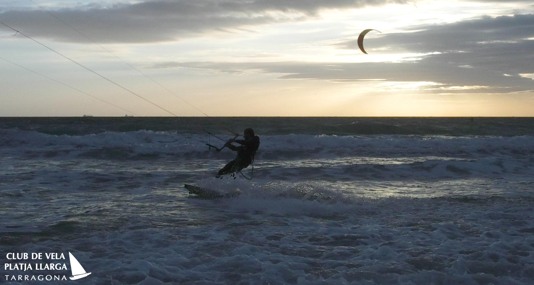kitesurfing en los Lances, Tarifa