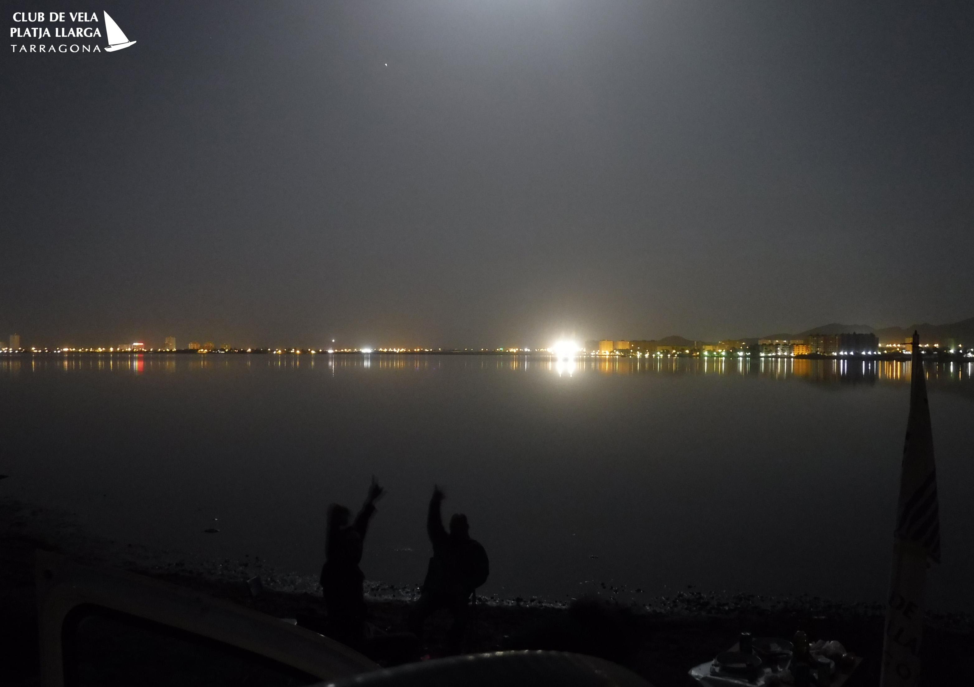 noche en el Mar Menor