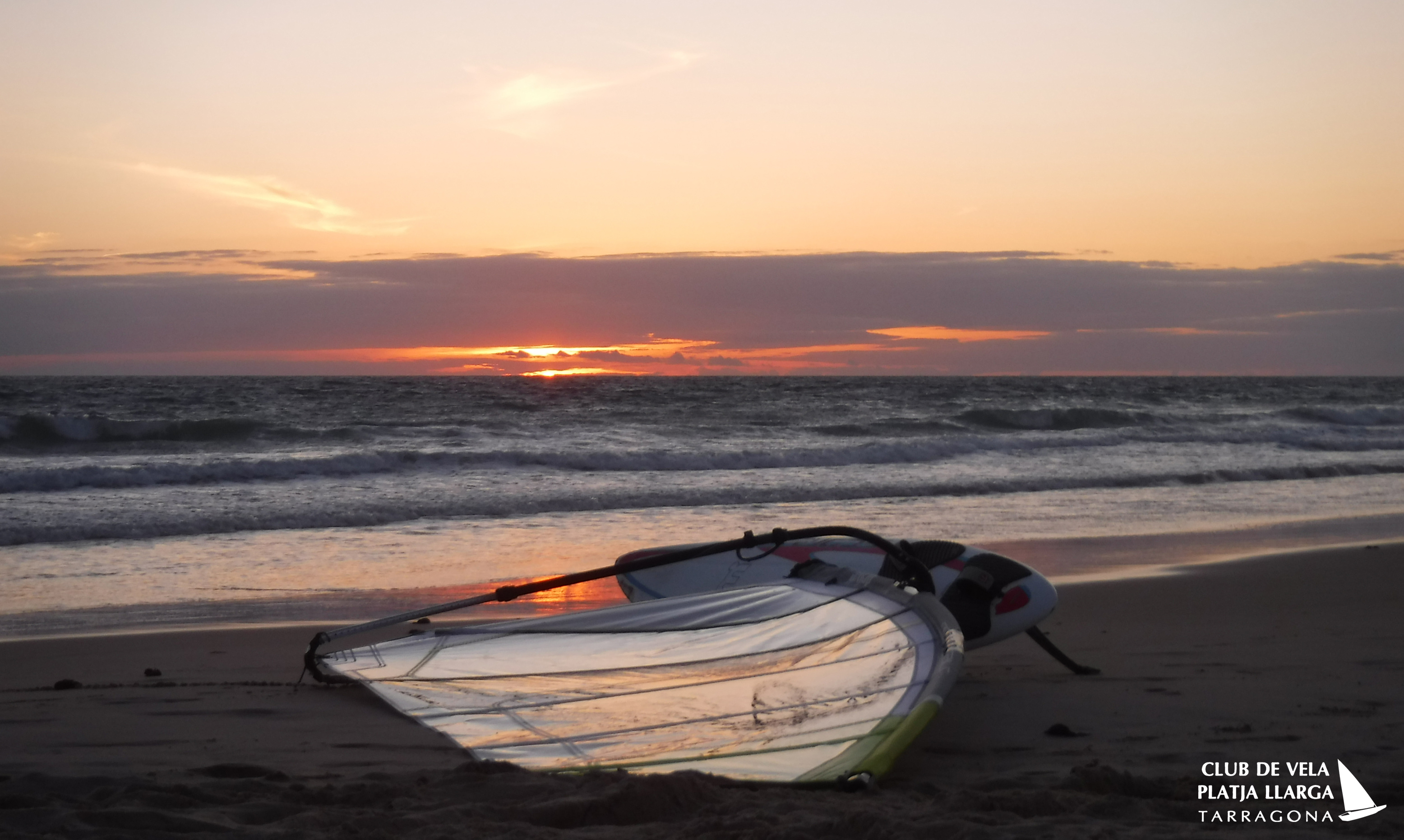 windsurf & sunset at Tarifa