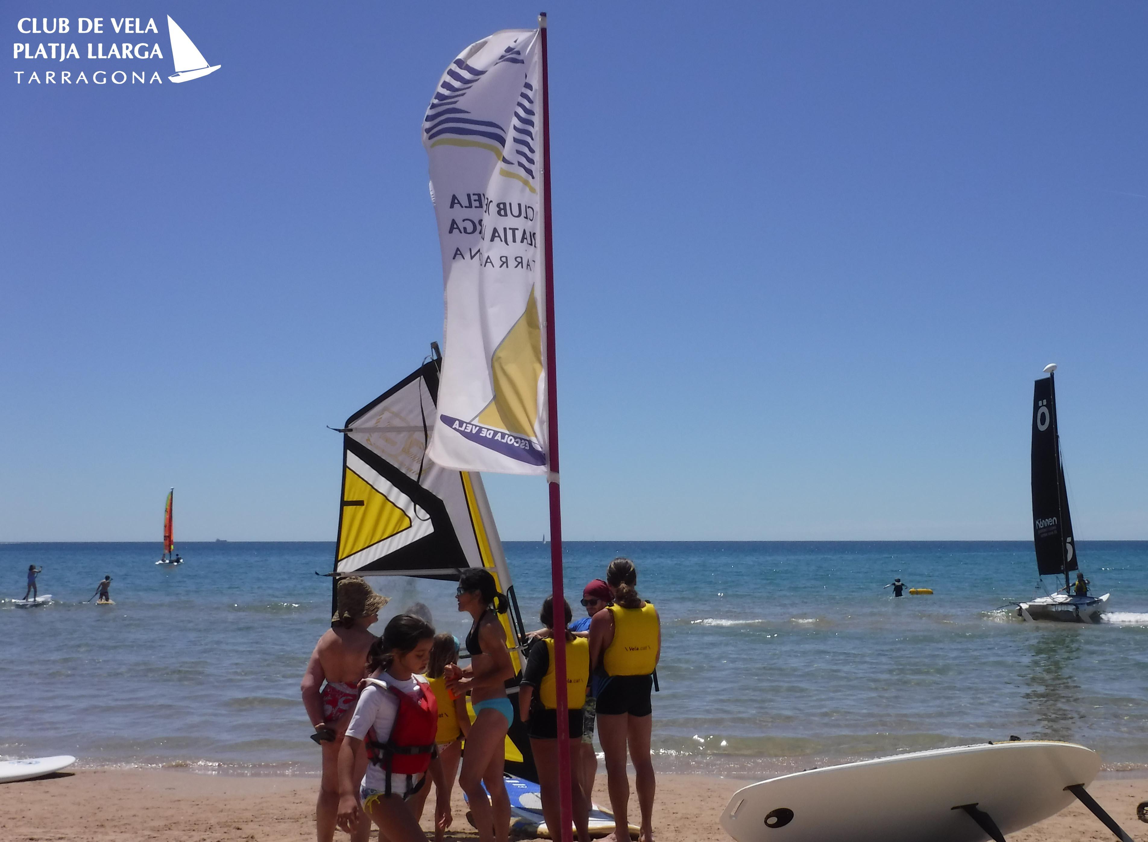 windsurf lesons tarragona