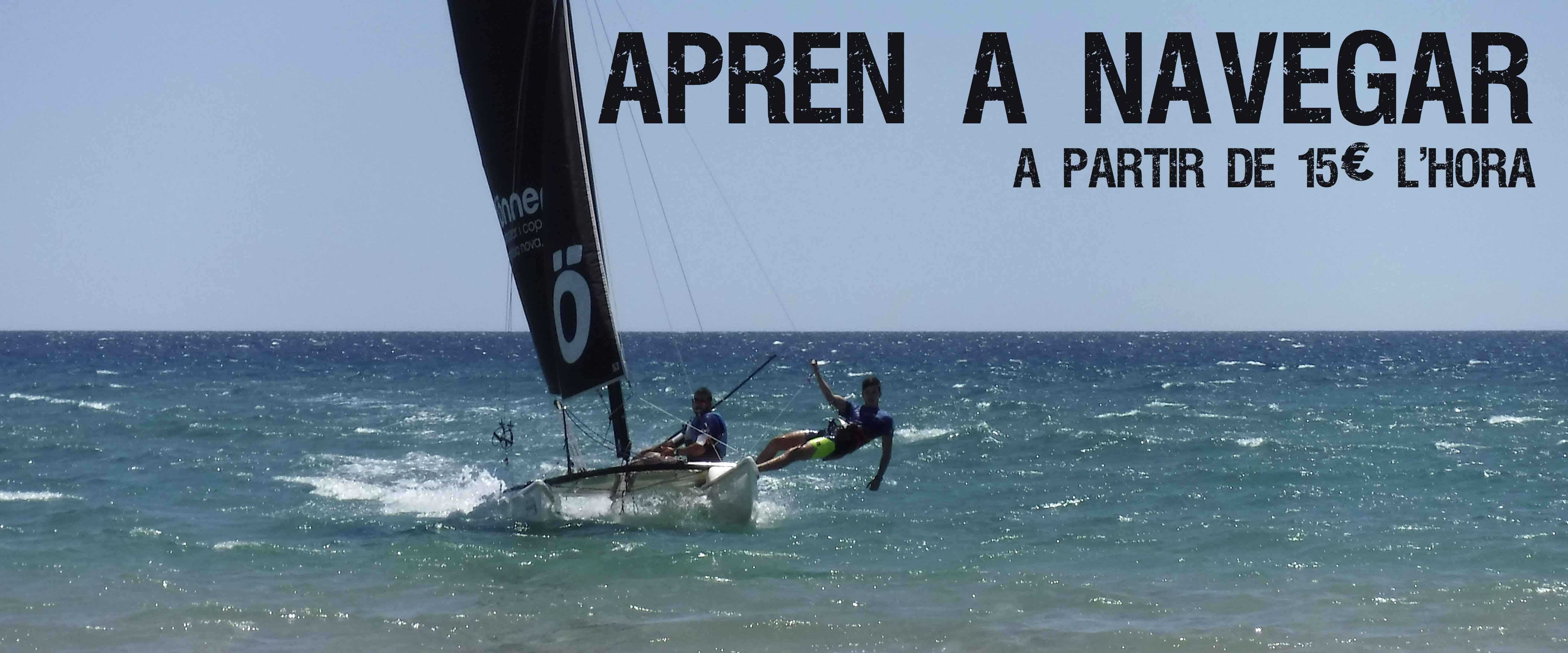 aprendre navegar tarragona